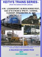 Image of Keith's Trains Series™ RR DVD #55 (1-West Productions™)