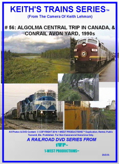 Image of Keith's Trains Series™ RR DVD #56 (1-West Productions™)