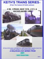 Image of Keith's Trains Series™ RR DVD #58 (1-West Productions™)
