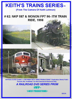 Image of Keith's Trains Series™ RR DVD #62 (1-West Productions™)