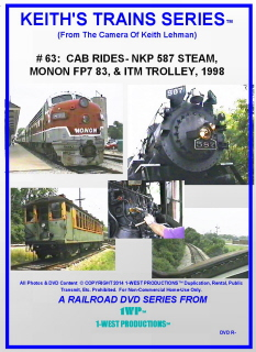 Image of Keith's Trains Series™ RR DVD #63 (1-West Productions™)