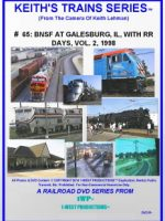 Image of Keith's Trains Series™ RR DVD #65 (1-West Productions™)