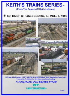 Image of Keith's Trains Series™ RR DVD #66 (1-West Productions™)