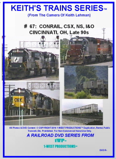 Image of Keith's Trains Series™ RR DVD #67 (1-West Productions™)