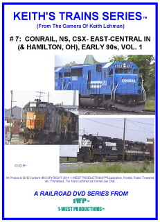 Image of Keith's Trains Series™ RR DVD #7 (1-West Productions™)