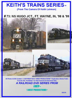 Image of Keith's Trains Series™ RR DVD #73 (1-West Productions™)
