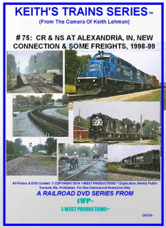 Image of Keith's Trains Series™ RR DVD #75 (1-West Productions™)