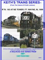 Image of Keith's Trains Series™ RR DVD #76 (1-West Productions™)