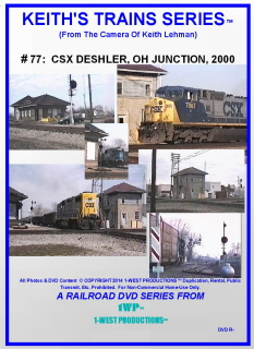 Image of Keith's Trains Series™ RR DVD #77 (1-West Productions™)
