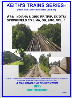 Image of Keith's Trains Series™ RR DVD #78 (1-West Productions™)