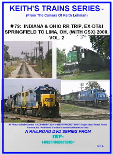 Image of Keith's Trains Series™ RR DVD #79 (1-West Productions™)