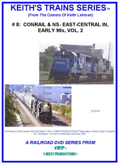 Image of Keith's Trains Series™ RR DVD #8 (1-West Productions™)