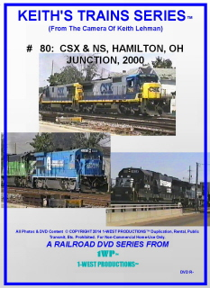Image of Keith's Trains Series™ RR DVD #80 (1-West Productions™)