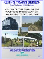 Image of Keith's Trains Series™ RR DVD #82 (1-West Productions™)