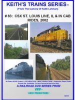 Image of Keith's Trains Series™ RR DVD #83 (1-West Productions™)