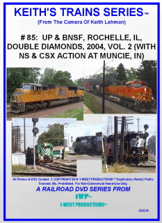 Image of Keith's Trains Series™ RR DVD #85 (1-West Productions™)