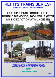 Image of Keith's Trains Series™ RR DVD #86 (1-West Productions™)