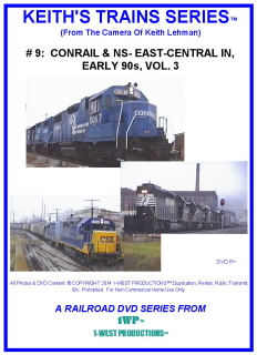 Image of Keith's Trains Series™ RR DVD #9 (1-West Productions™)