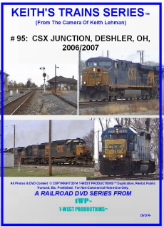 Image of Keith's Trains Series™ RR DVD #95 (1-West Productions™)