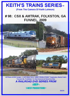 Image of Keith's Trains Series™ RR DVD #98 (1-West Productions™)