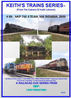 Image of Keith's Trains Series™ RR DVD #99 (1-West Productions™)