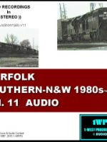 Image of Norfolk Southern- N&W1980s Vol 11 audio CD cover