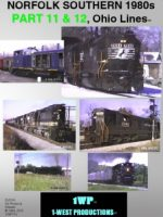 Image of DVD Norfolk Southern 1980s, Part 11 & 12, Ohio Lines™, 1-West Productions™