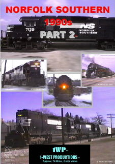 Photo of NS 1990s Part 2 DVD cover from 1-West Productions™