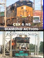 Photo of CSX & NS Diamond Action- Fostoria, Ohio™ DVD from 1-West Productions™