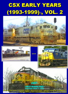 Photo of DVD CSX EARLY YEARS (1993-1999) VOL. 2 1-West Productions™