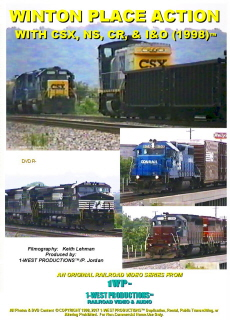 Photo of Video cover of Winton Place Action With CSX, NS, CR, & I&O (1998)™ from 1-West Productions™